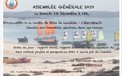 Assemblée Générale 2019 Samedi 14 Décembre 18h